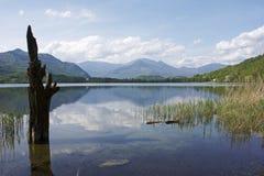 отражения пиколло lagho avigliana Стоковое Изображение