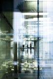 отражения прохода офиса Стоковая Фотография RF