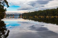 Отражения реки Nepean Стоковое Фото
