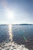 Отражения Солнця Стоковые Фотографии RF