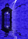 отражения фонарика Стоковое Изображение