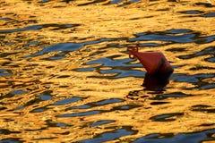 Отражения цвета на море Стоковое фото RF