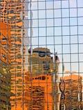 отражения 1 города Стоковое фото RF