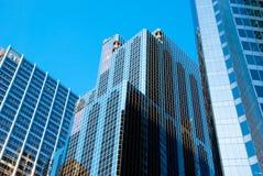 отражения chicago стоковая фотография