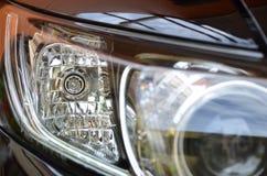Отражения headlamp автомобиля Стоковые Фото
