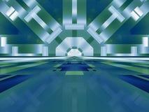 отражения kaleidoscope Стоковое Изображение RF