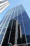 Отражения Scape города Чикаго Стоковые Изображения RF