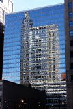 Отражения Scape города Чикаго Стоковое фото RF