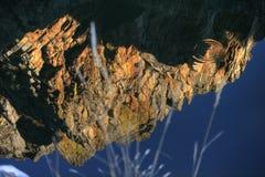 Отраженная гора Стоковая Фотография RF
