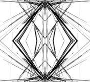Отраженная решетка, цепляет абстрактные геометрические картину/элемент иллюстрация штока