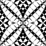Отраженная симметричная картина Геометрическая monochrome предпосылка T бесплатная иллюстрация