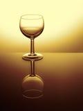 Отраженный бокал пусто Фильтрованное изображение стоковое фото rf