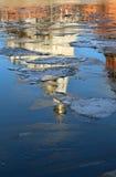 Отраженный в реке Стоковое Изображение