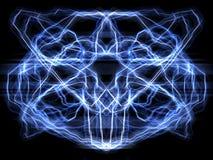 отраженный мозг Стоковые Фотографии RF