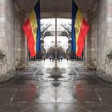 Отраженный флаг Стоковые Фото