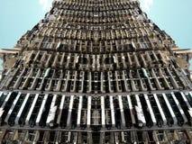 Отразите влияние 45 улицы, Александрия, Египет Стоковое Фото