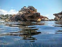 Отразите в море Стоковые Фотографии RF