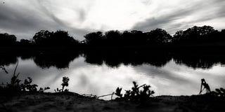 Отразите на себе как вода стоковая фотография