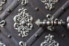 Отрегулируйте и metal стробы для входа церков Стоковые Фотографии RF