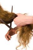отрежьте волос Стоковые Фото