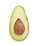 Отрежьте в открытого половине плодоовощ авокадоа Стоковое Изображение RF