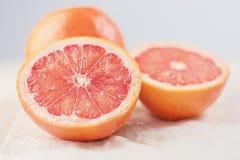 отрежьте грейпфрут Стоковое фото RF