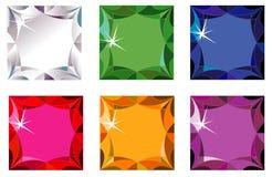 отрежьте драгоценные камни sparkle princess Стоковые Изображения