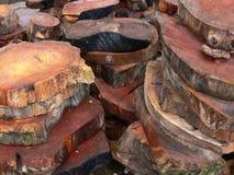 отрежьте древесину кругов Стоковые Изображения RF