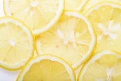 Отрежьте зрелый лимон Стоковые Фотографии RF