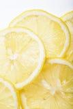 Отрежьте зрелый лимон Стоковое Фото