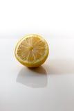 отрежьте лимон Стоковая Фотография