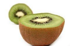 отрежьте киви плодоовощ половинный Стоковая Фотография
