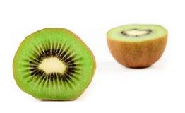 отрежьте киви плодоовощ половинный Стоковое фото RF
