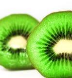 отрежьте киви плодоовощ половинный Стоковое Фото