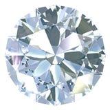 отрежьте круг диаманта европейский старый Стоковое фото RF