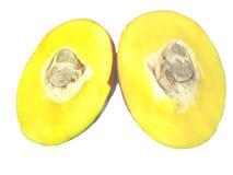 отрежьте манго Стоковое Изображение