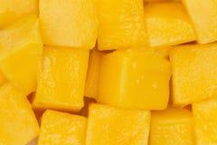 отрежьте манго Стоковые Изображения