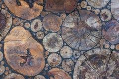 Отрежьте мозаику дерева стоковые изображения