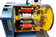 Отрежьте мотор пути одновременный Стоковое фото RF