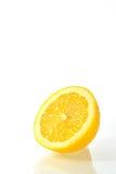 отрежьте половинный лимон Стоковые Изображения RF