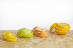 отрежьте плодоовощи Стоковая Фотография RF