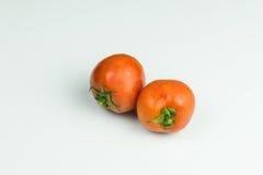 отрежьте свежие томаты Стоковые Фото