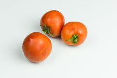 отрежьте свежие томаты Стоковое фото RF
