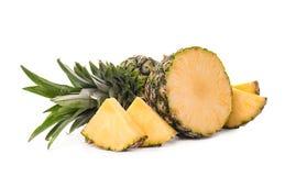 Отрежьте свежий ананас Стоковое Фото