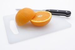 отрежьте свежий помеец Стоковые Фотографии RF