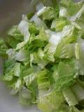 отрежьте свежий салат стоковые фото