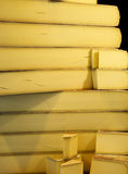 Отрежьте сыр Стоковые Фото