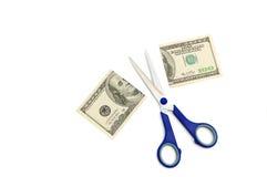 Отрежьте финансы Стоковая Фотография RF