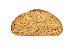 Отрежьте часть темного хлеба Стоковые Изображения RF