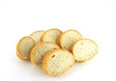 Отрежьте часть хлеба Стоковое фото RF